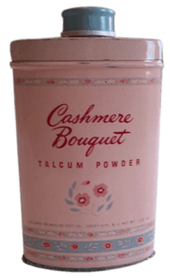 Cashmere Bouquet talcum powder